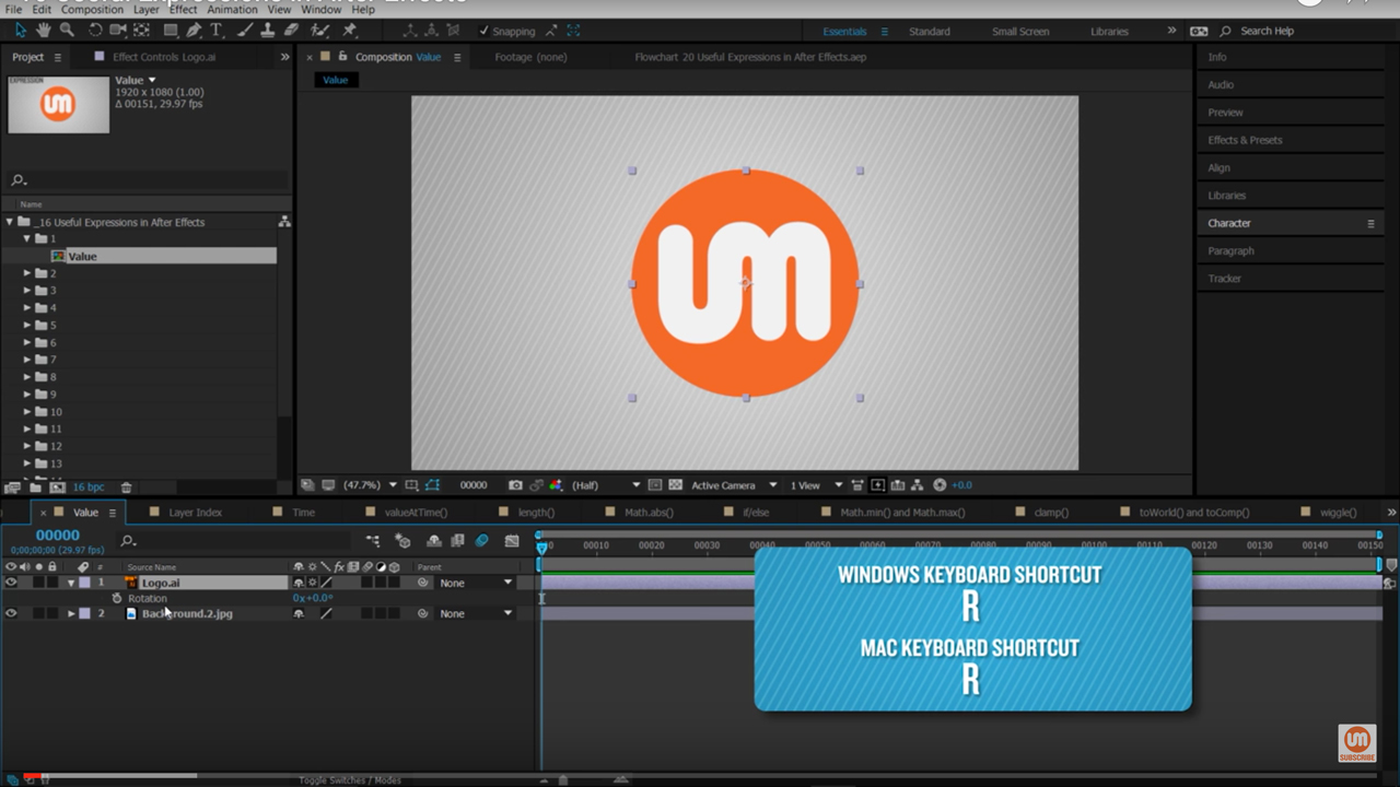 After Effects: 16 Expressions You Should Know