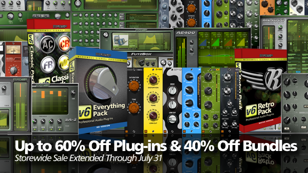 Sale: McDSP Sale has been extended through July 31!