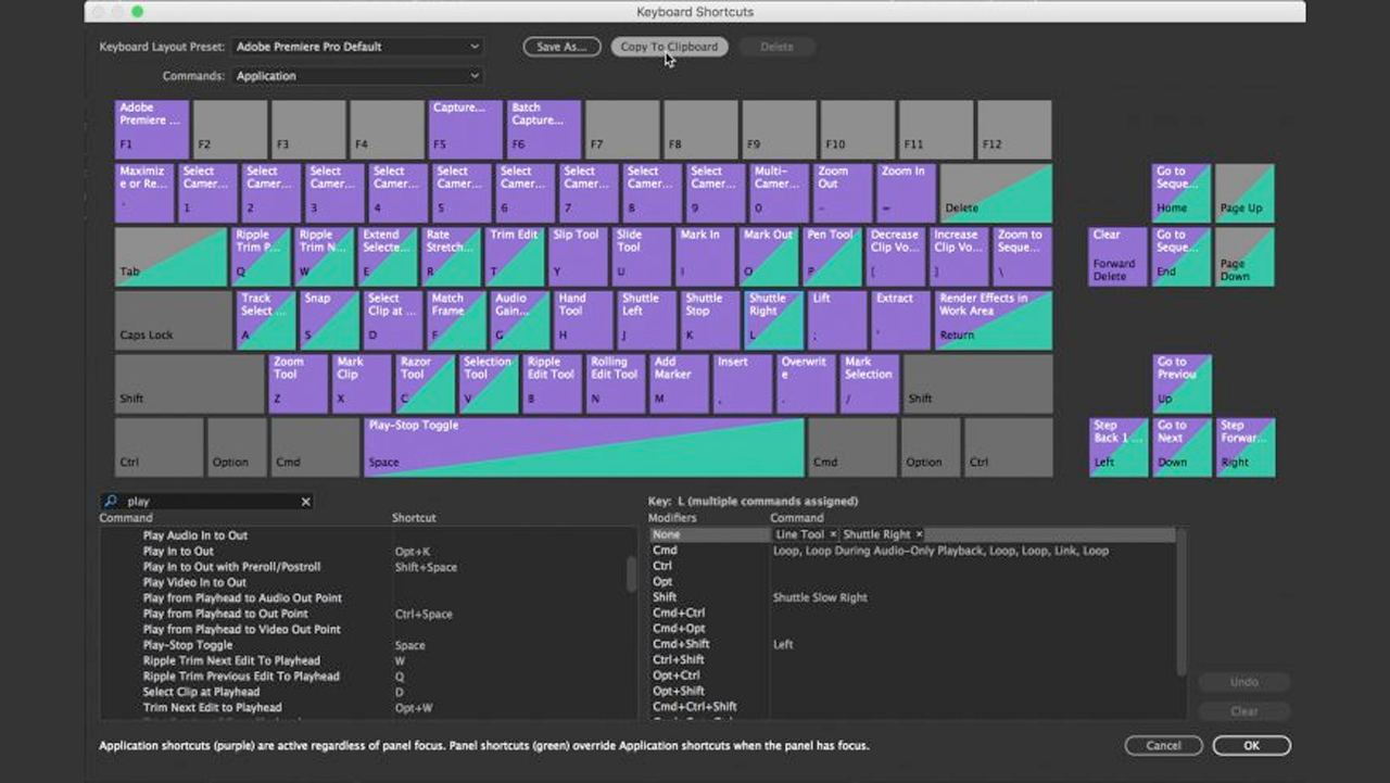 Tutorial: 20 Vital Keyboard Shortcuts for Adobe Premiere Pro Editing
