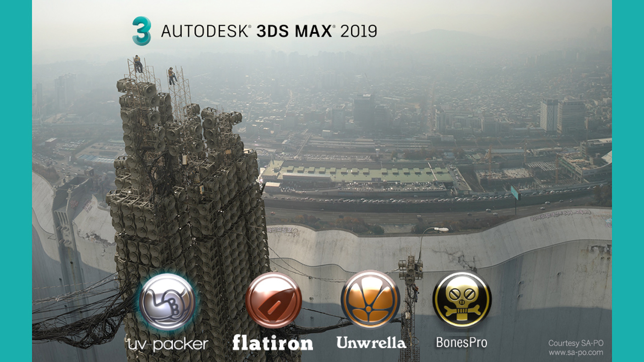 Update: 3d-io UV Packer for 3ds Max 2.10 – All Plug-ins Updated for 3ds Max 2019 Support