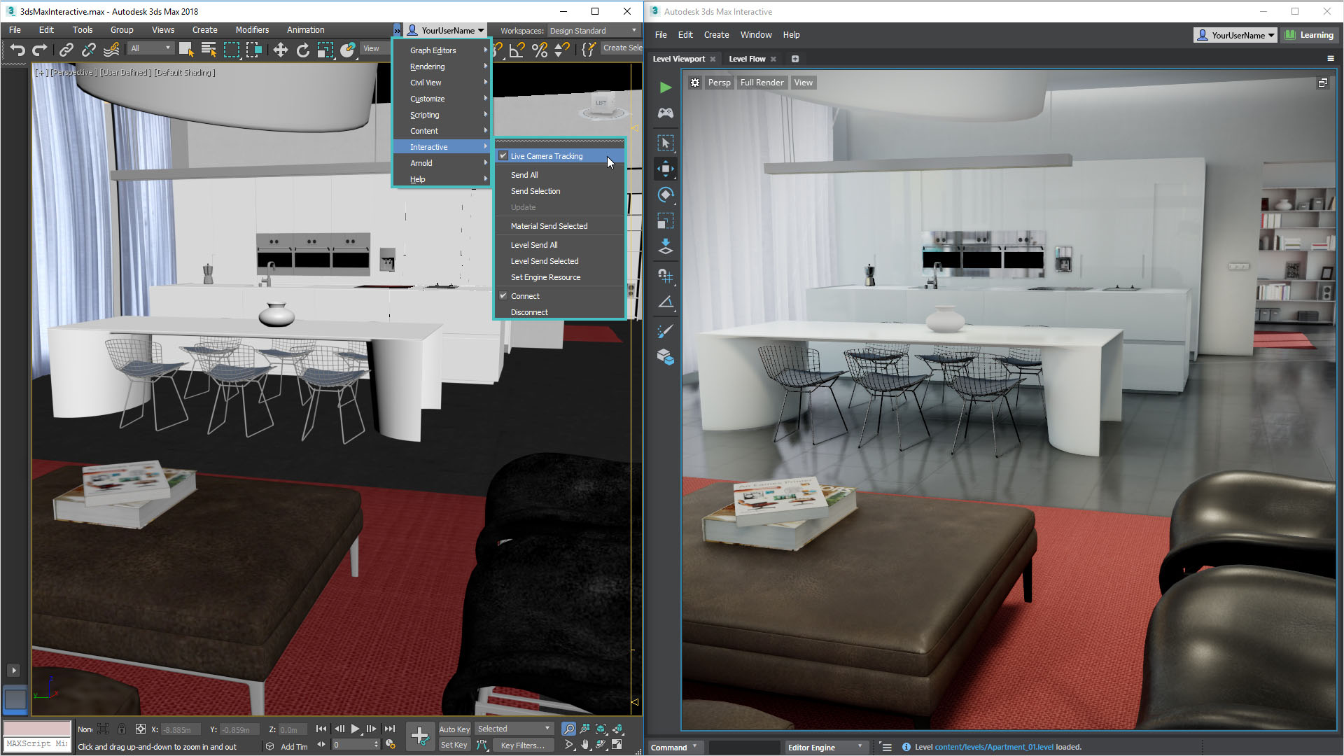 News: Autodesk 3ds Max 2018.1 Update with 3ds Max Interactive