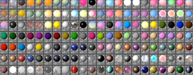 500 free c4d materials