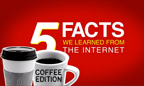 Inspirations: 5facts You Didn't Know about Coffee