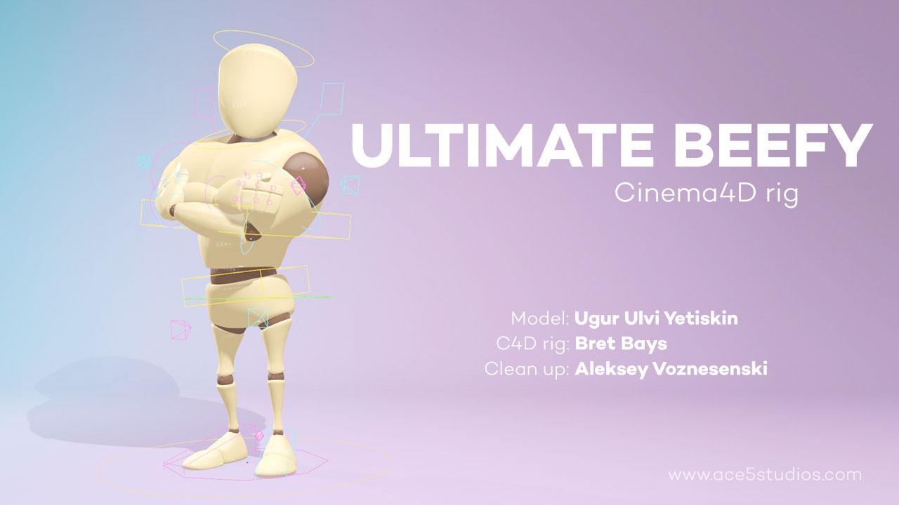 Freebie: Fully Rigged Cinema 4D 3D Character - Toolfarm