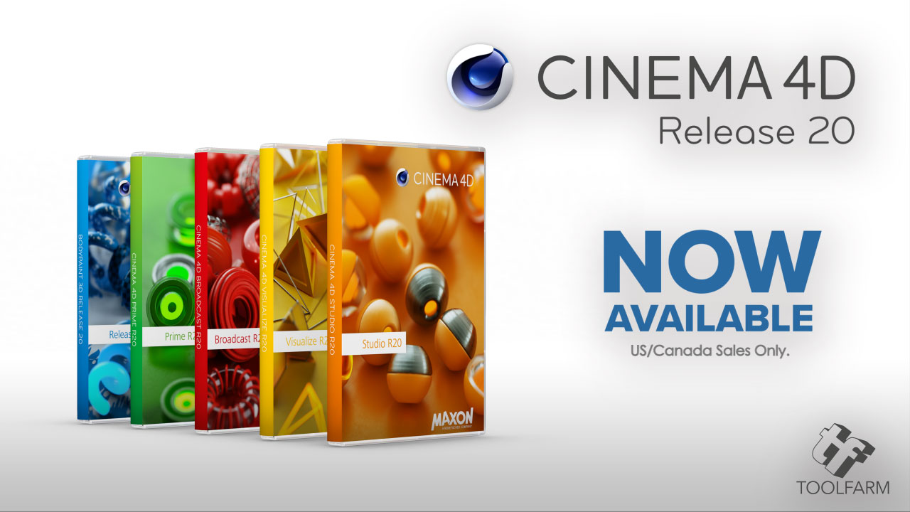 Cinema 4D R20 Now Available