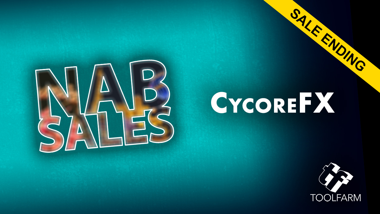 NAB Sale Ending: Cycore - 50% Off - Ends Today April 12, 2018