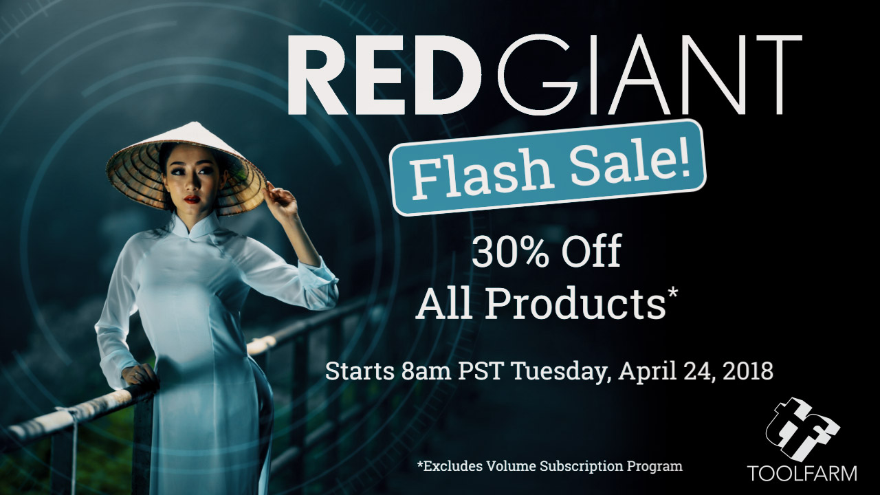 Red Giant Trapcode Sale