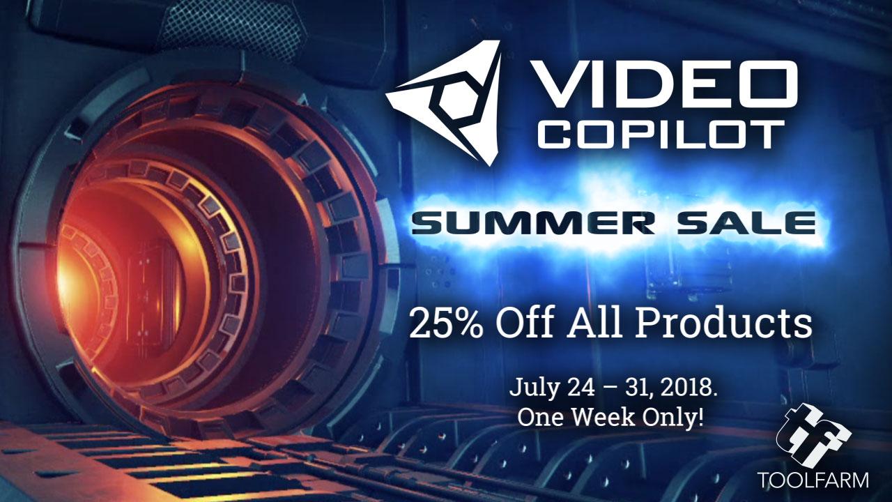 video copilot summer sale