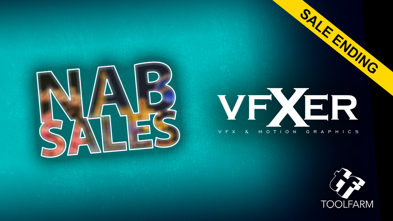 NAB Sale Ending: VFXER Materials Bundle - 30% Off - Ends Today April 12, 2018