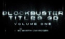 New: Boris FX Blockbuster Titles 3D, Vol I + Tutorial and Free Template!
