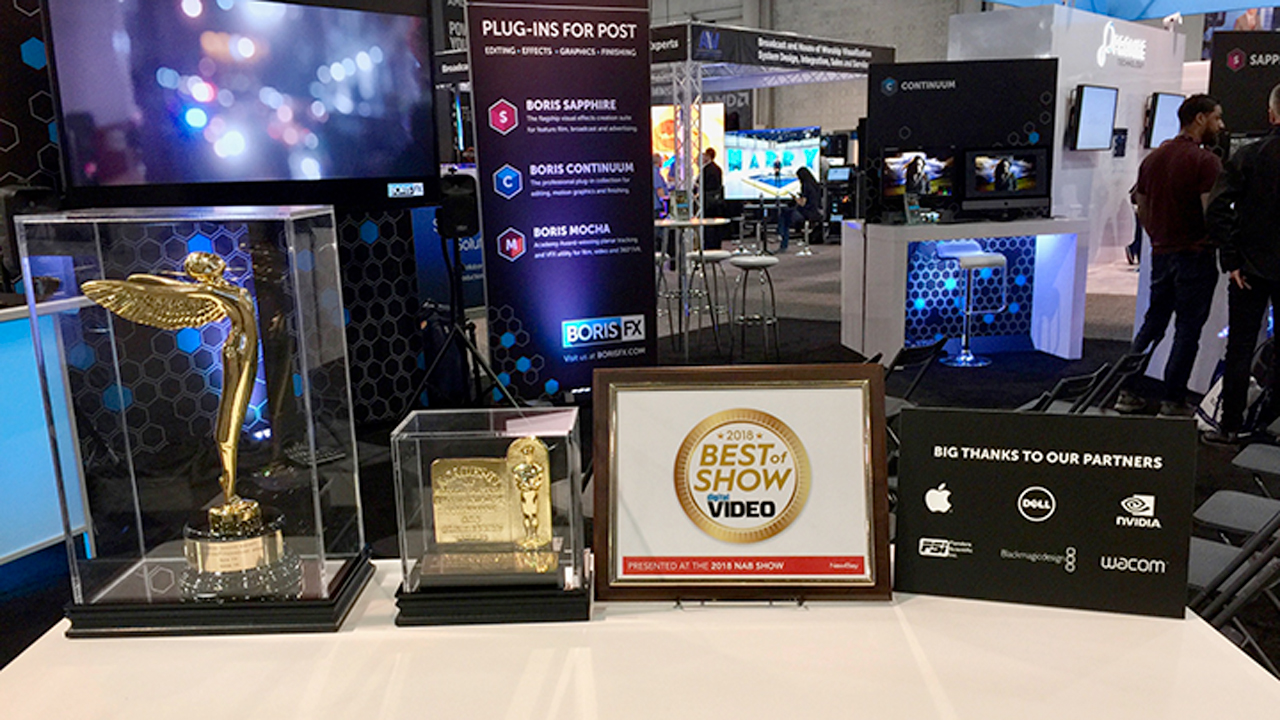 News: Boris FX Wins Best of Show from Digital Video, Mocha VR gets a StudioDaily Prime Award