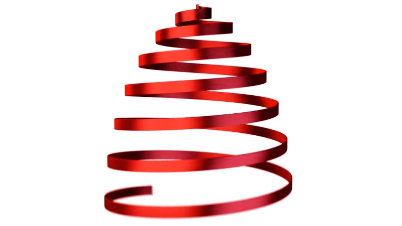 Animating a Holiday Ribbon Tree