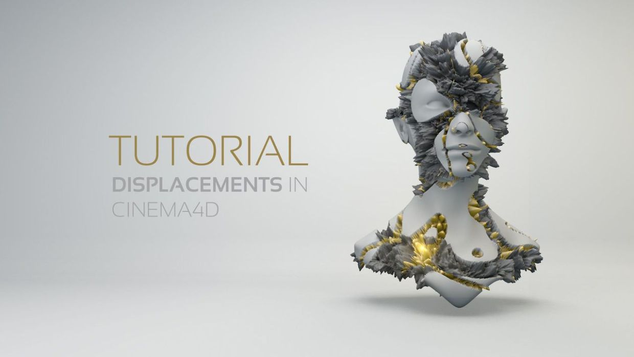 Tutorial: 2 Tutorials about Displacement Maps in Cinema 4D