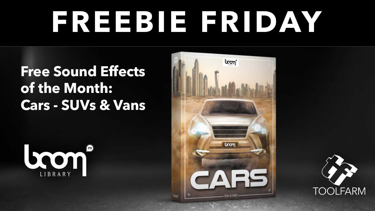 Freebie: Sound Effects from BOOM Library: Cars