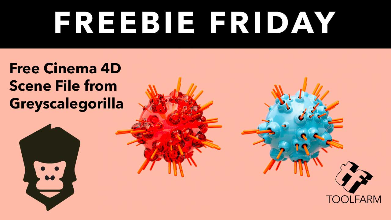 Freebie: Favorite Features of Cinema 4D from Greyscalegorilla + Free Scene File