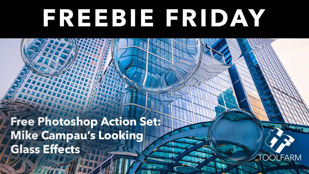 Freebie Friday: Photoshop Action Set: Looking Glass Effects