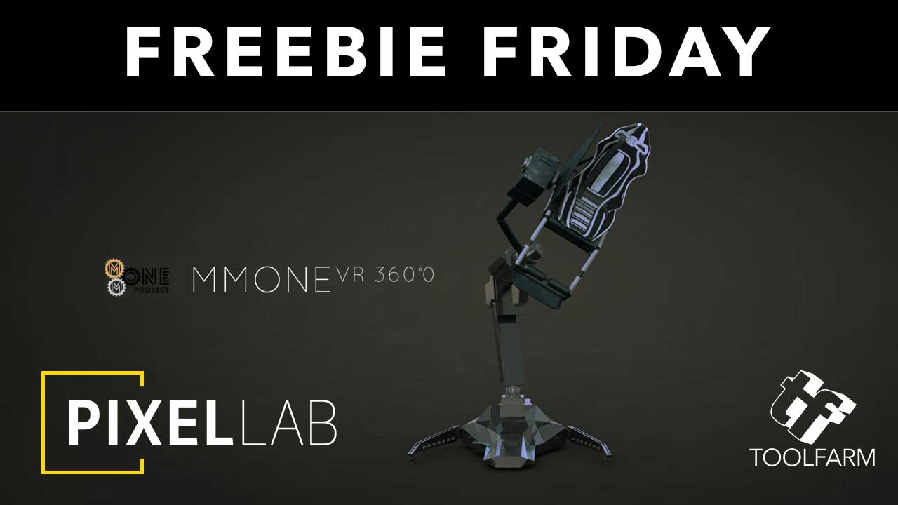 Freebie Friday: MMOne VR Simulator Cinema 4D Model from The Pixel Lab + Sales Info