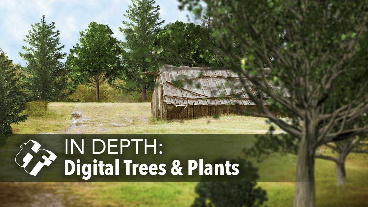 In Depth: Digital Trees and Plants