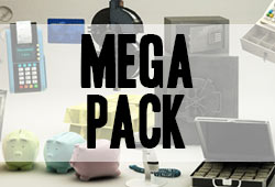 Update: The Pixel Lab Mega Pack - Now with Rooftop Pack, over 285 3D Models