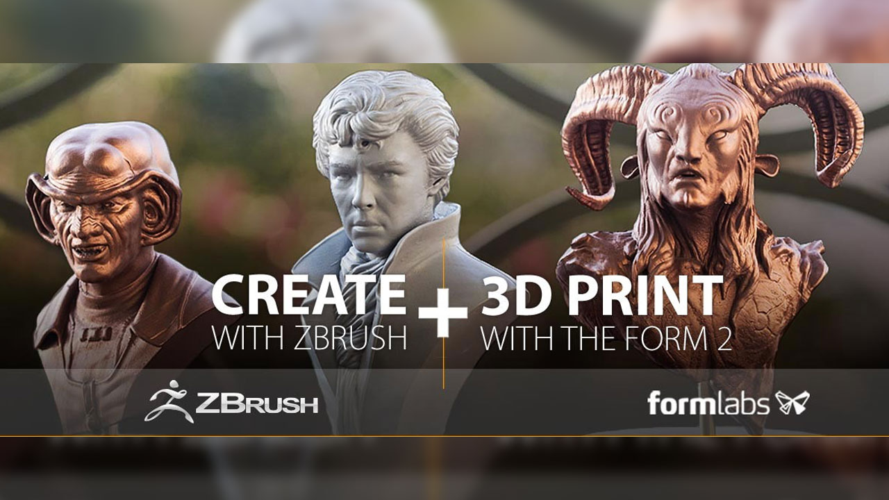 News: Pixologic is joining forces with Formlabs with Integration Plug-in