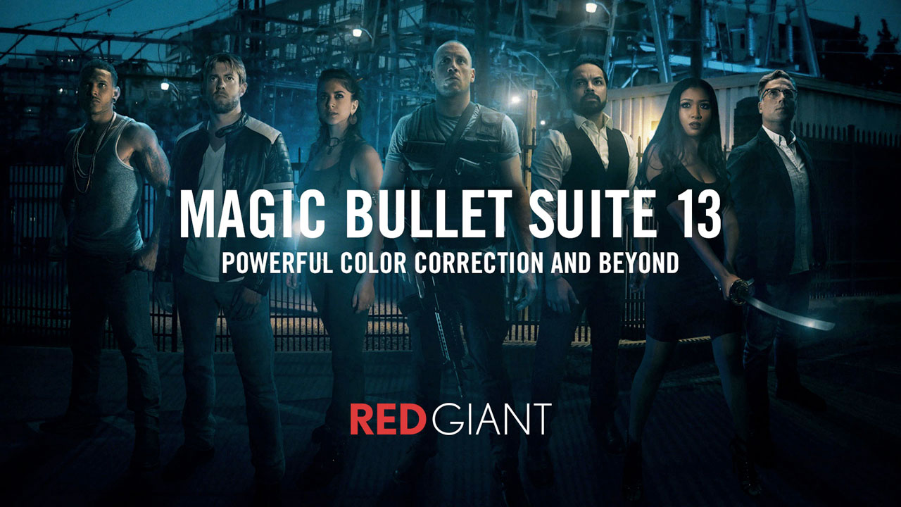 Red Giant Magic Bullet Suite Tutorial Roundup
