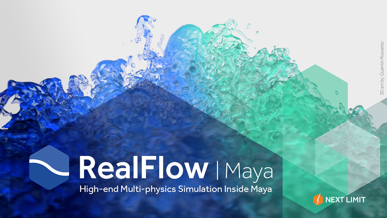 RealFlow | Maya: Installation Tutorial, Plus Next Limit Release Information