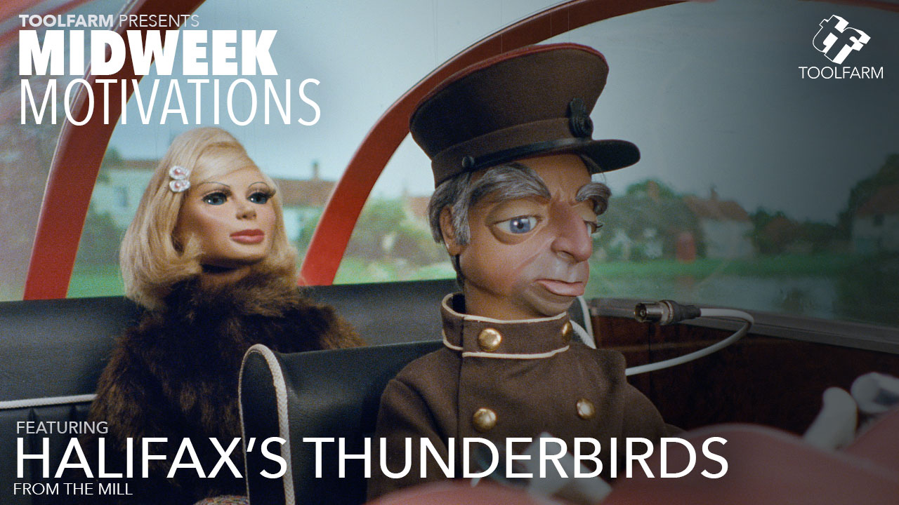 Midweek Motivations: Halifax 'Thunderbirds' with a Behind the Scenes + Top Cat, Flintstones, Scooby
