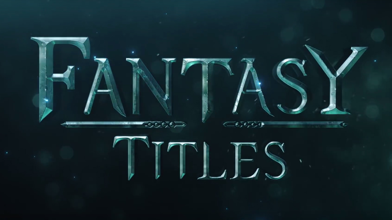 Cinematic Title Design in After Effects: Fantasy FX! from Video Copilot