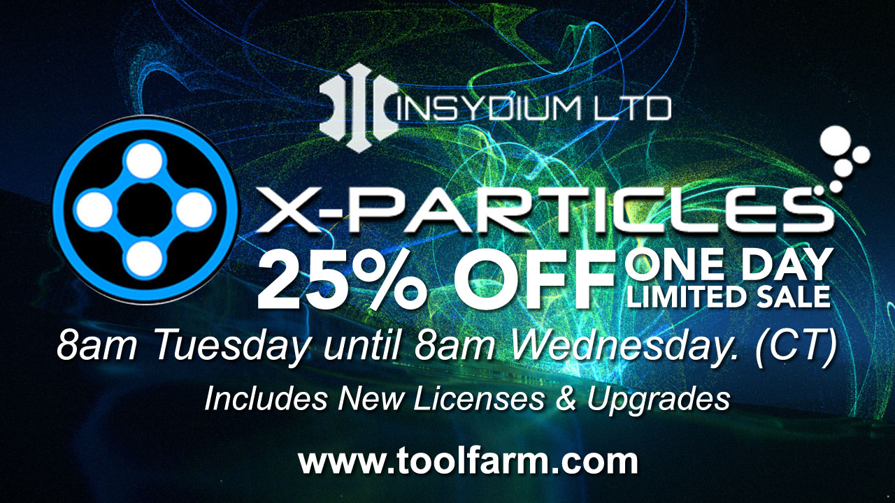 Sale: INSYDIUM X-Particles 1 Day Sale!