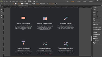 Muse Website Templates. safe confer muse template by zacomic ...