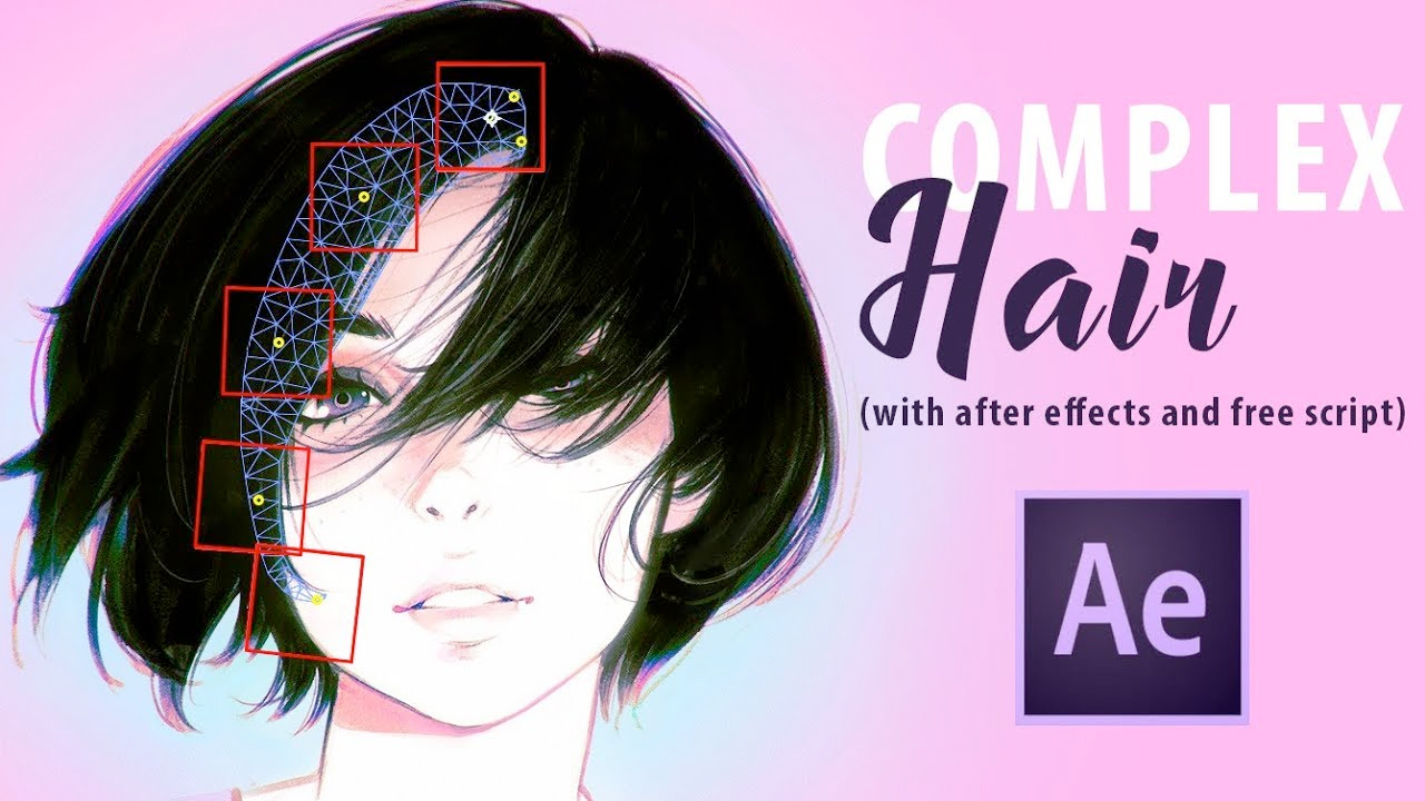 Freebie: Hair Animation Script for After Effects