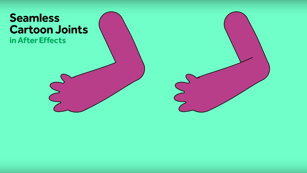 After Effects: Create Seamless Cartoon Joints
