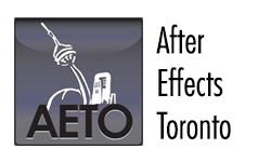 Event: After Effects Toronto, July 17, 2013