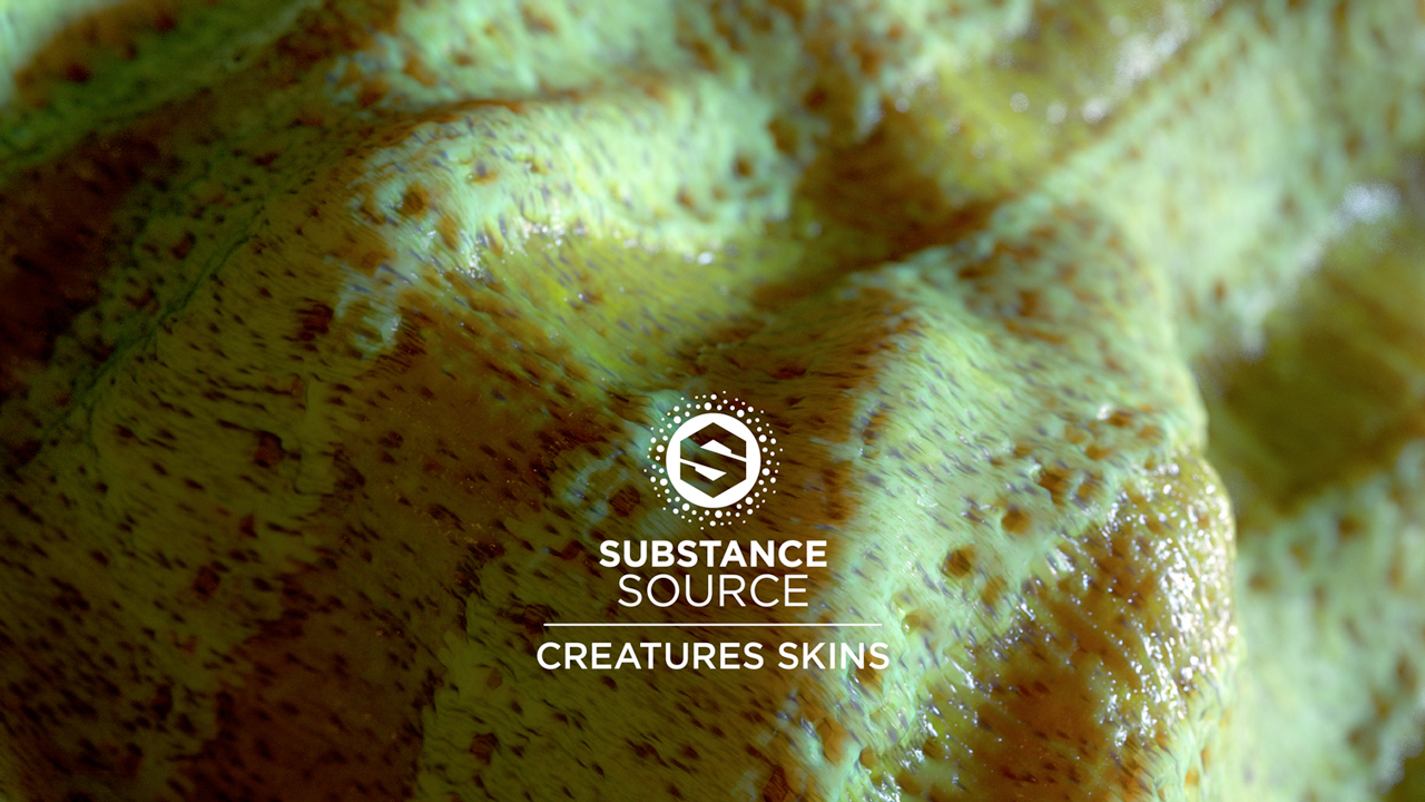 Update: Allegorithmic Substance Source: Creature Skins