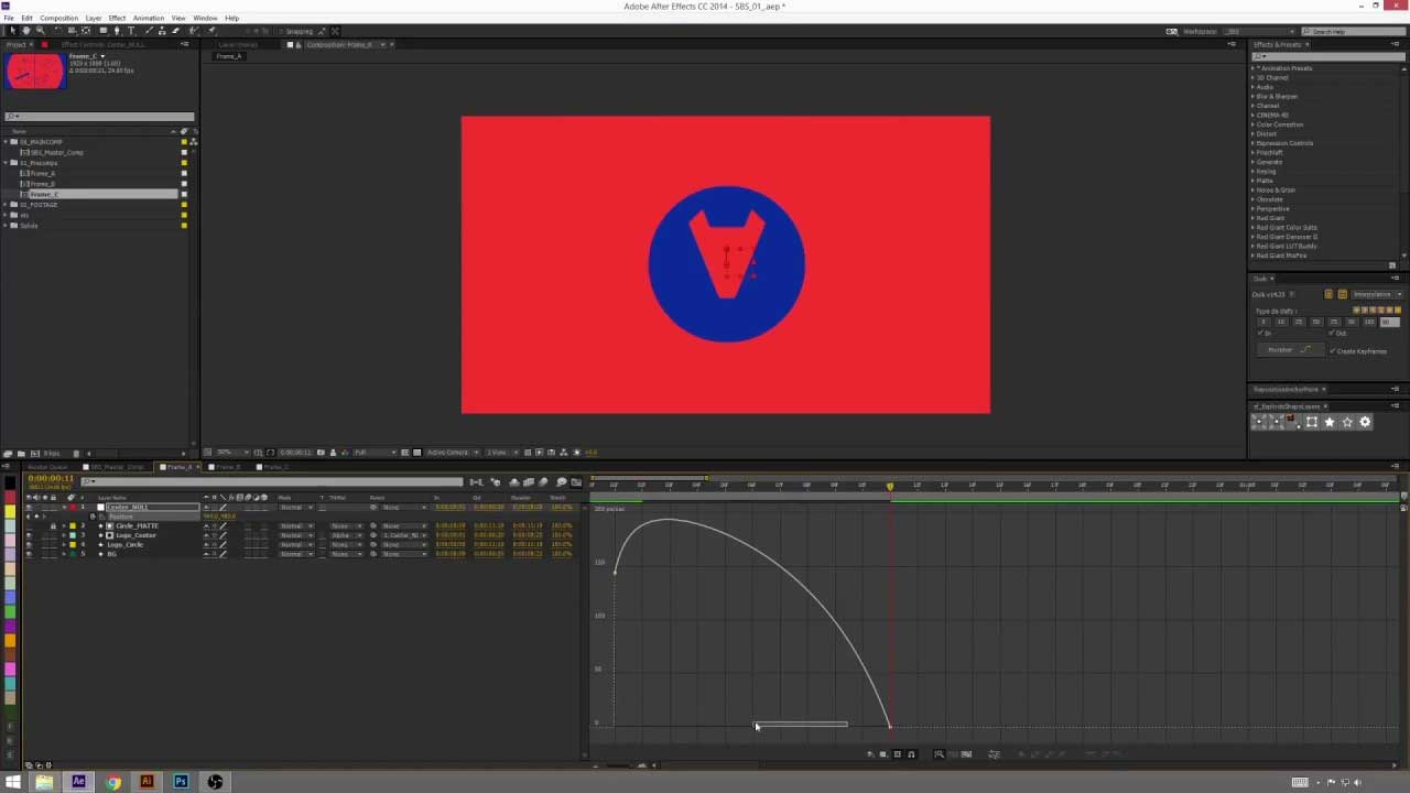 Animating Shapes and Vector Files in After Effects