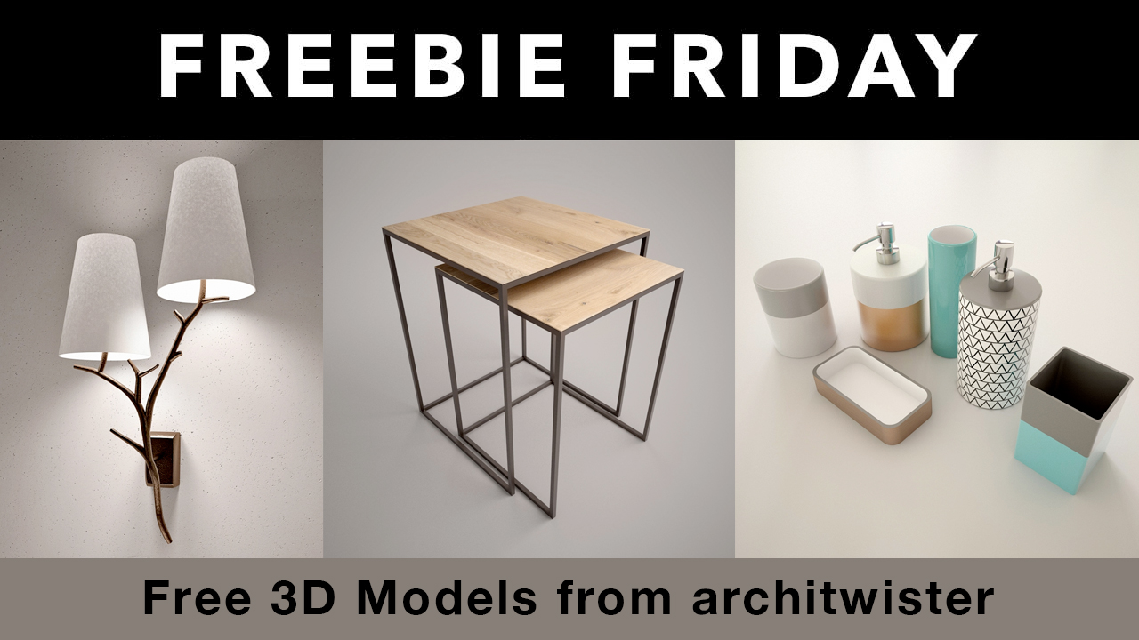 Freebie: 3D Models from architwister