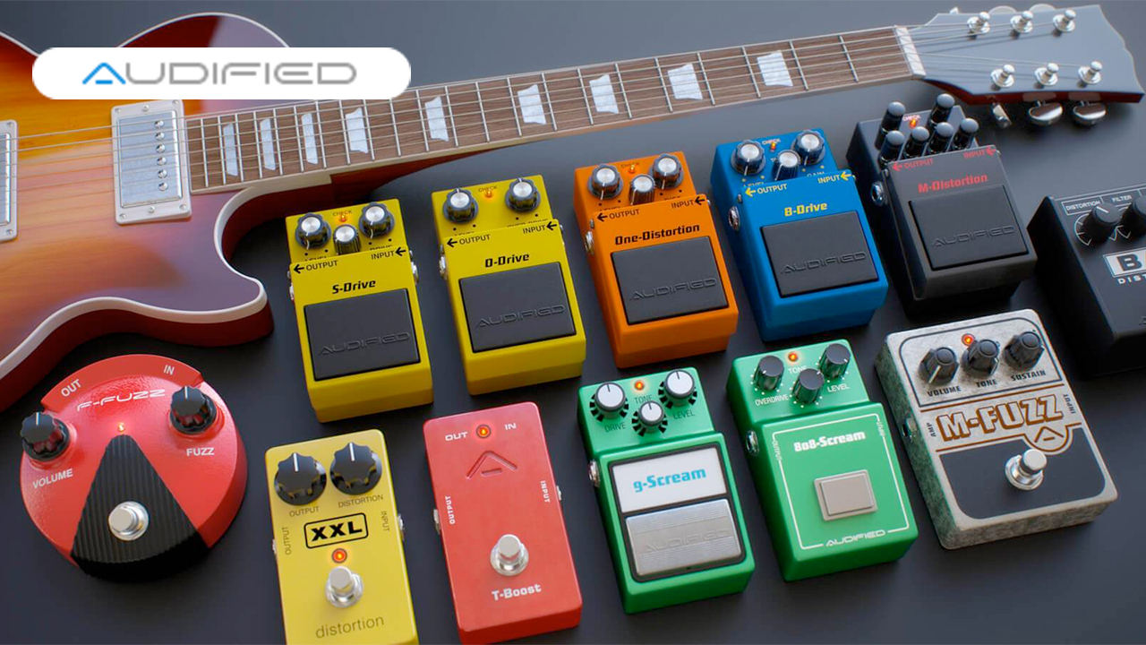 New: Audified MultiDrive Pedal Pro is Now Available