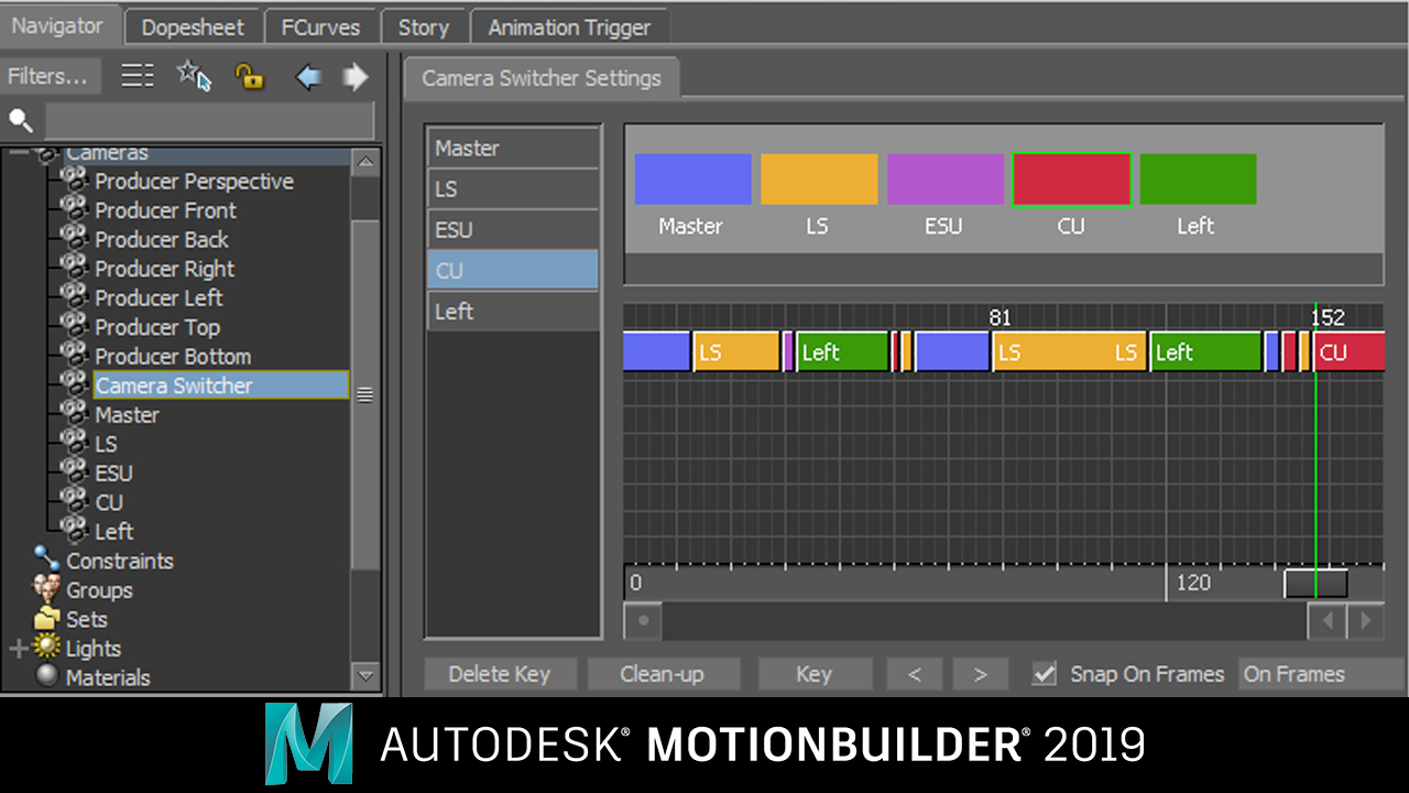 New: Autodesk MotionBuilder 2019 is Now Available
