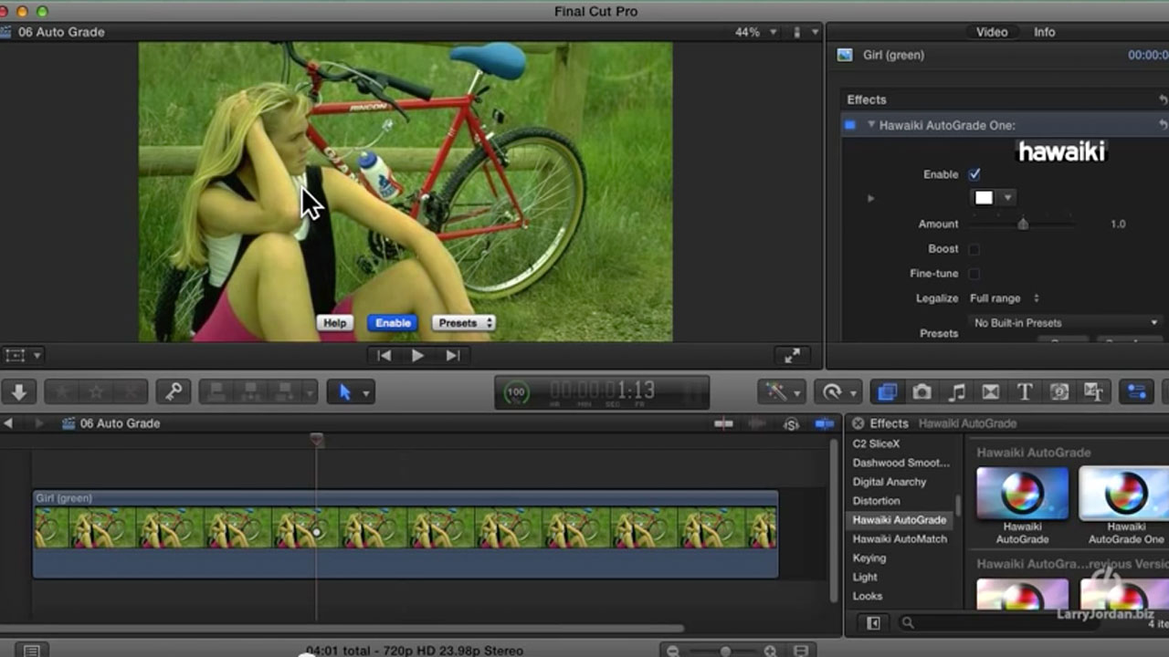 Exploring Color Correction with Hawaiki Auto Grade