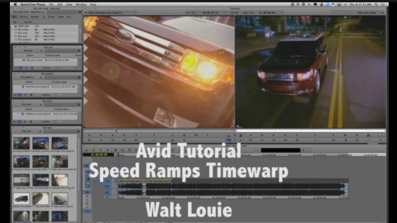 Avid Speed Ramp