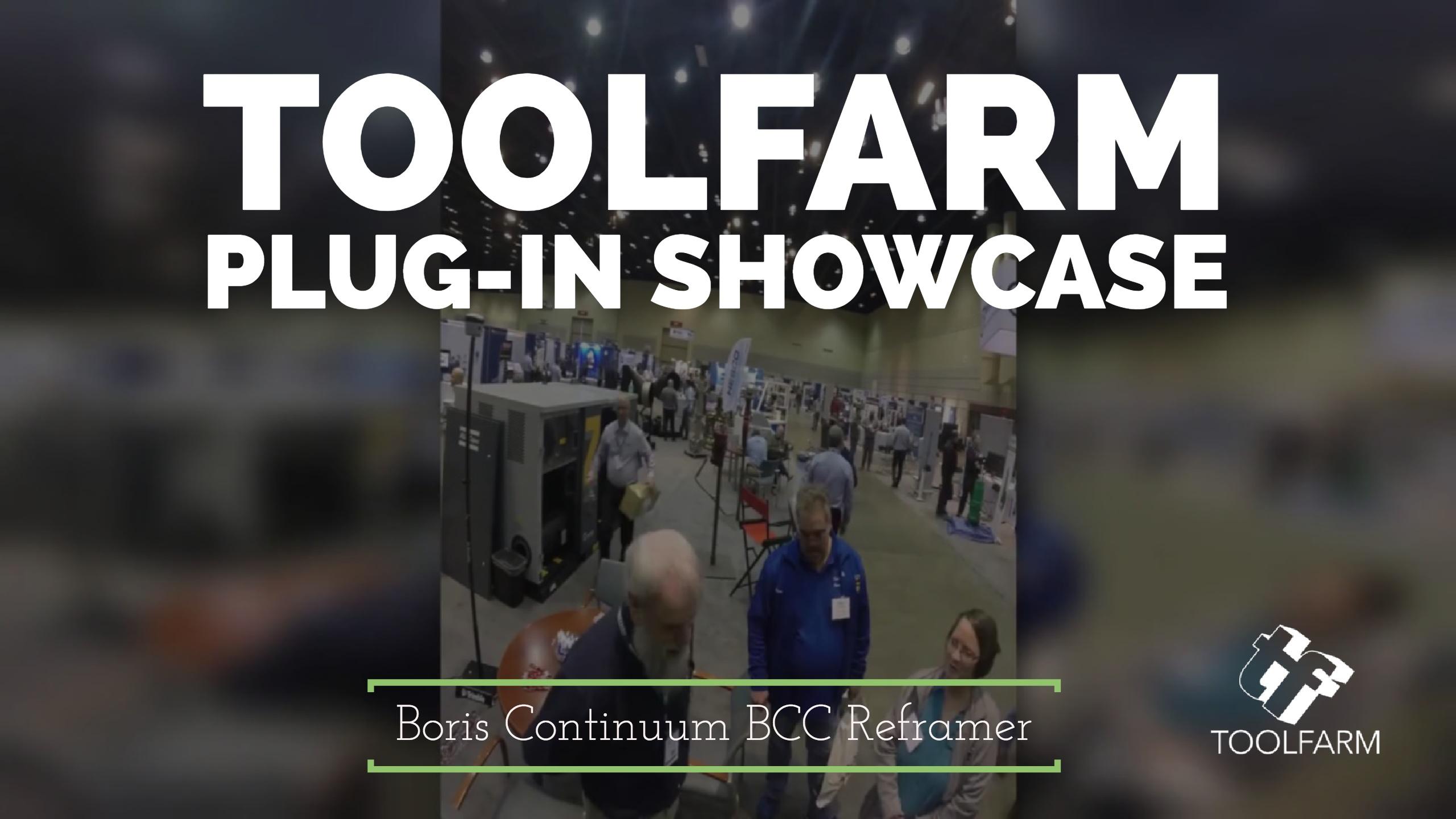 Boris Continuum BCC Reframer