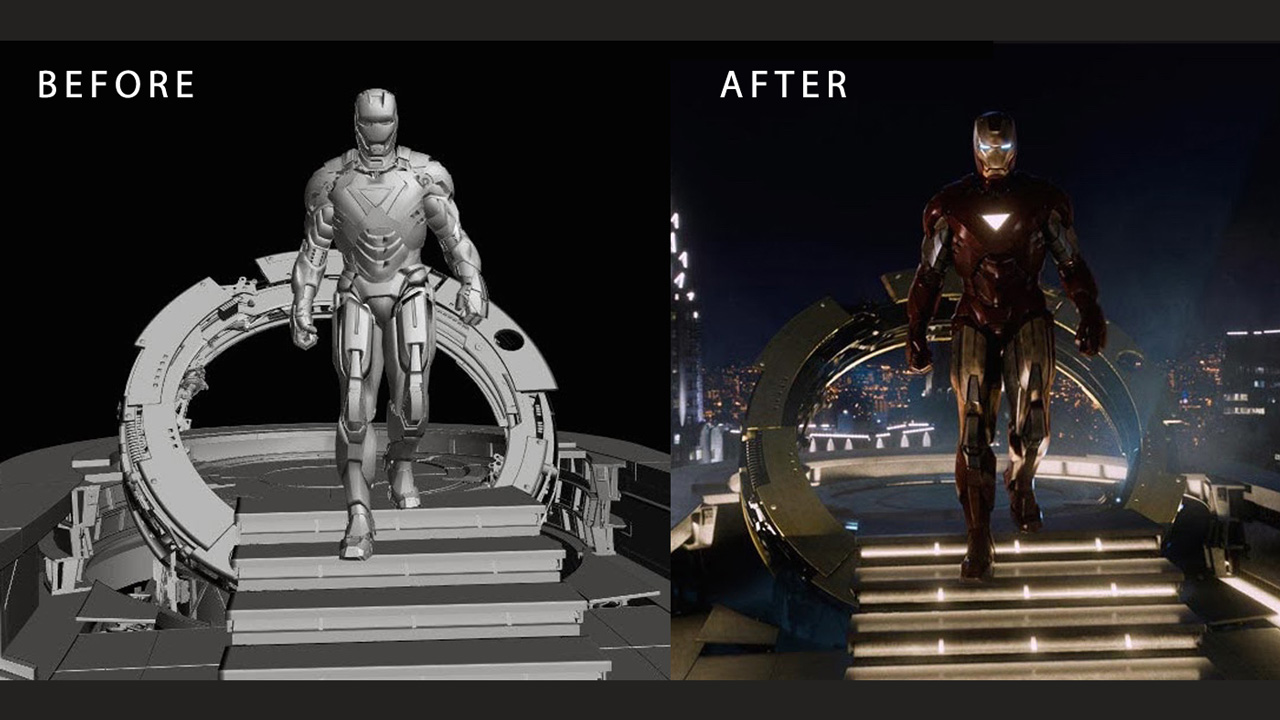 Midweek Motivation: 25 Classic Before-After VFX Shots