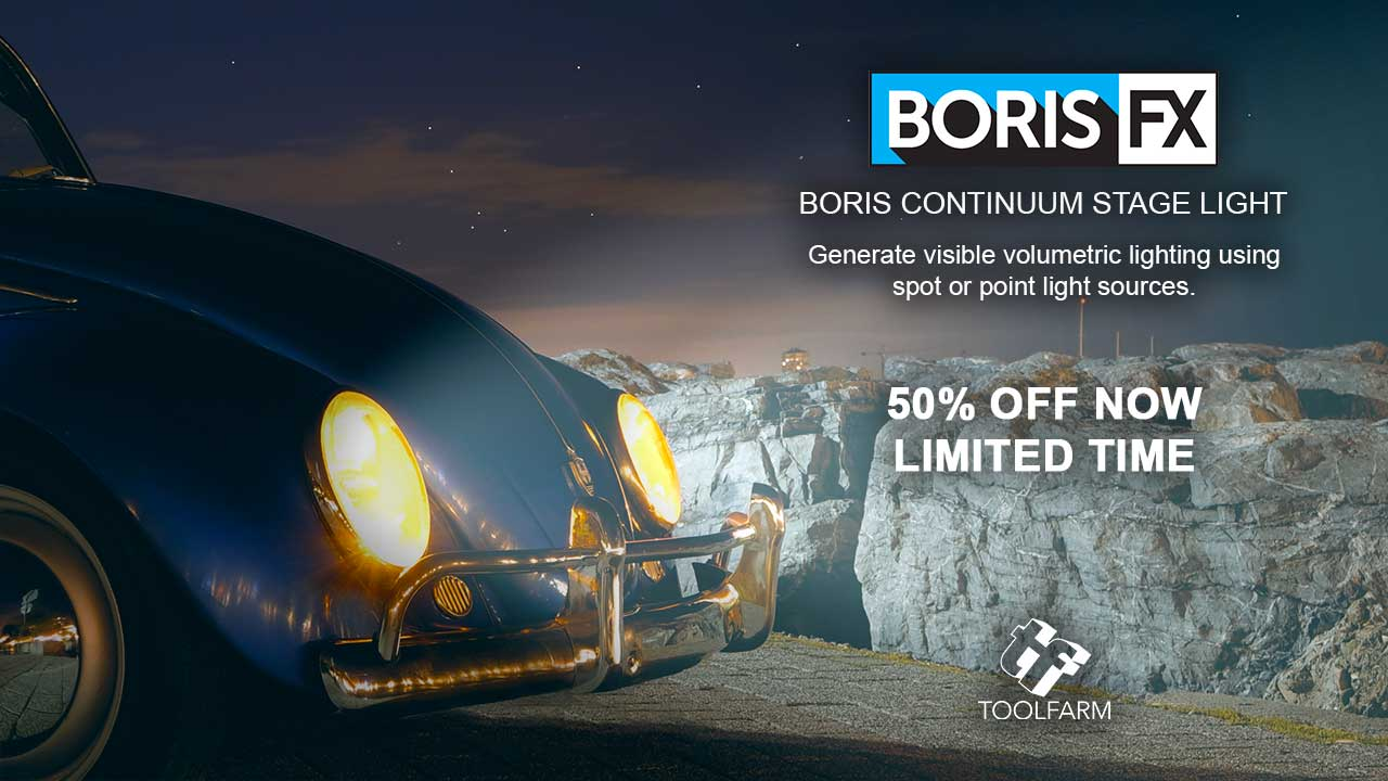 New: Boris FX Continuum Stage Light – 50% Off Introductory Special