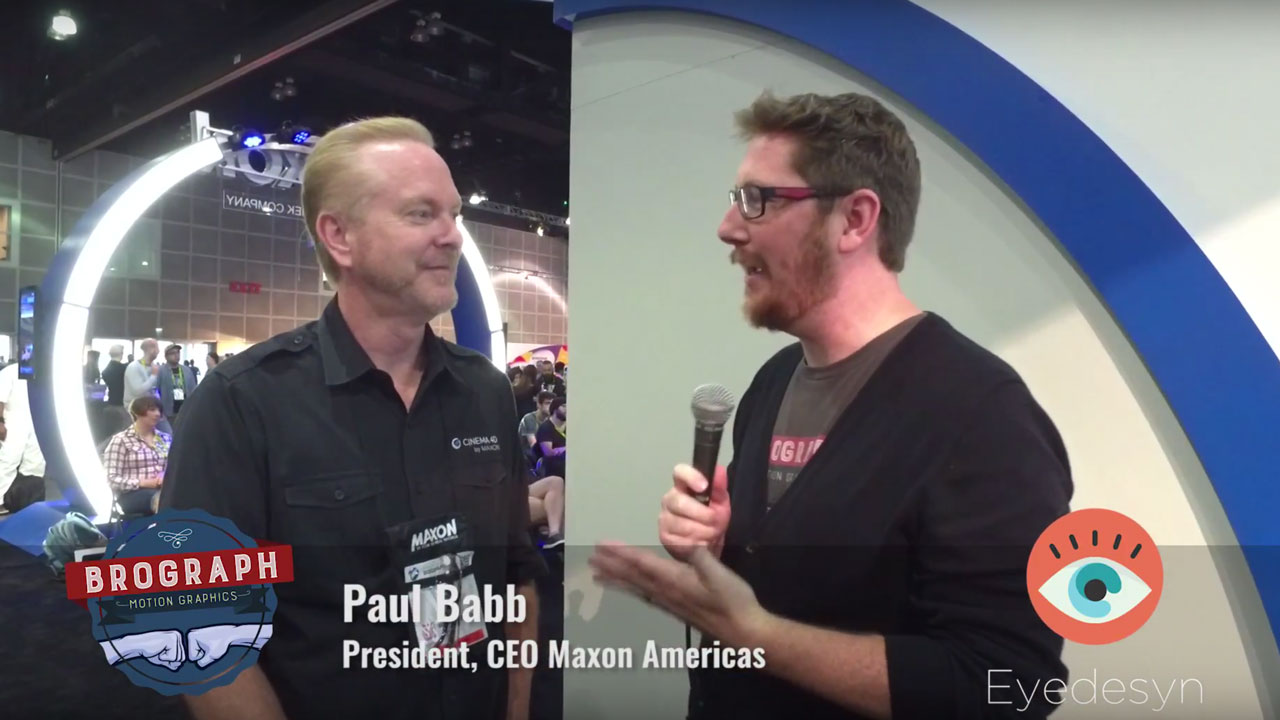 News: Siggraph 2017 – Paul Babb Interview