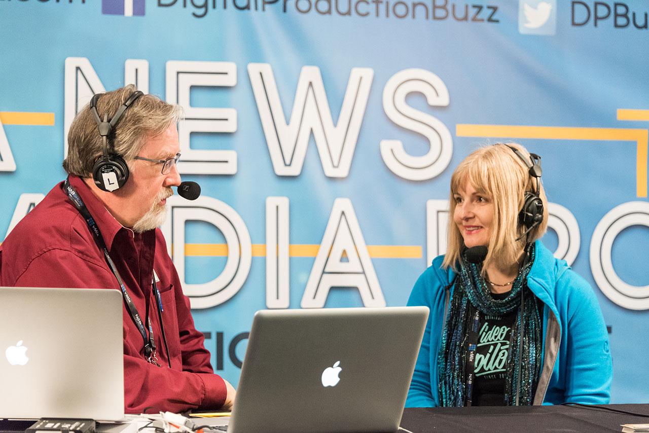NAB 2018   Digital Production Buzz with Larry Jordan