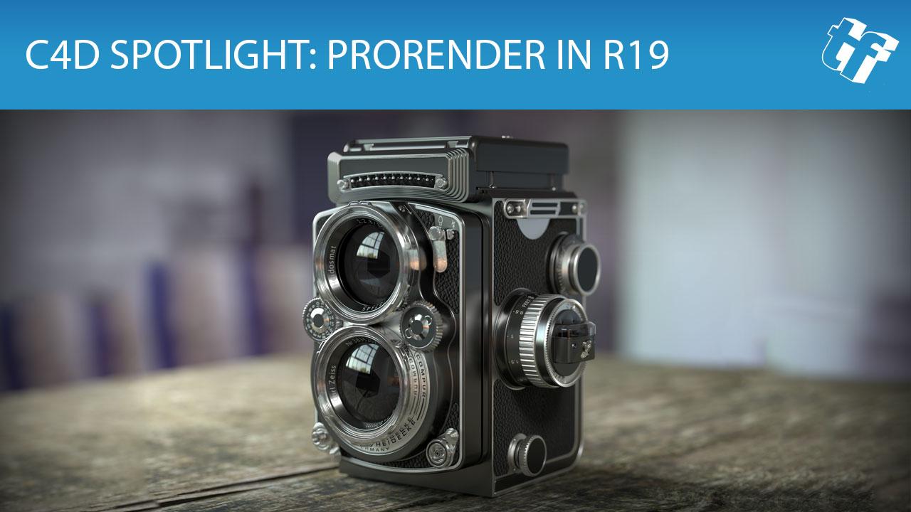 ProRender for Cinema 4D