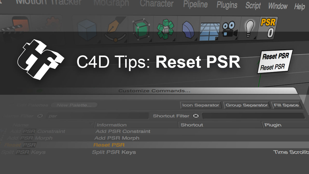Reset PSR: How to Center any Object in Cinema 4D - Toolfarm