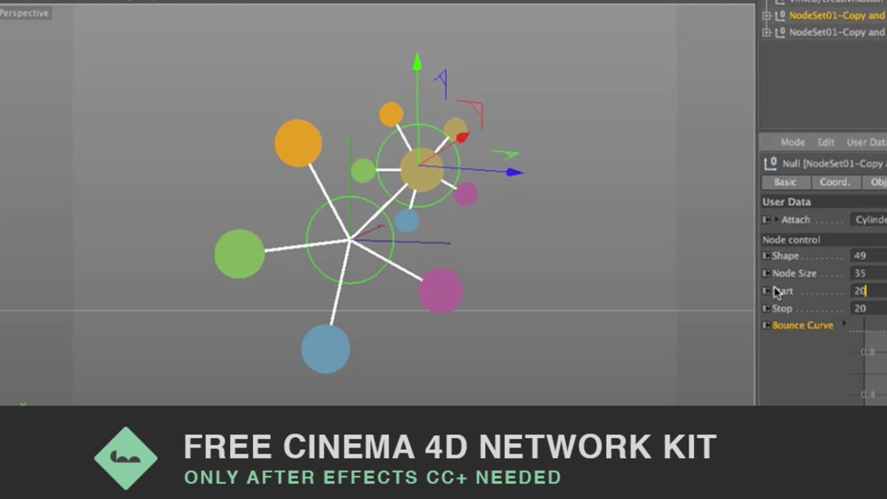 Freebie: Cinema 4D Network Kit