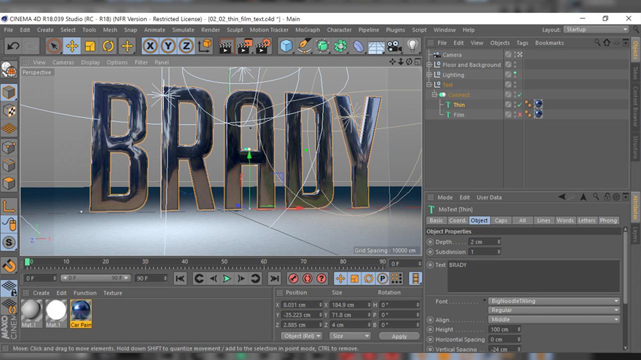 Review: Maxon Cinema 4D Studio Release 18 - Toolfarm