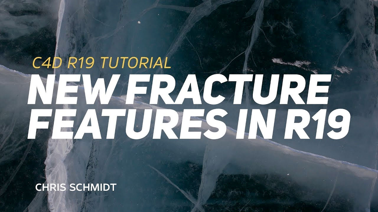 New in Cinema 4D R19 – Voronoi Fracture Features